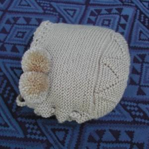Capota para bebé en forma de estrella hecha a mano